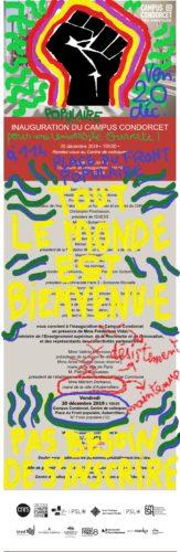 illustration du mouvement social à Condorcet